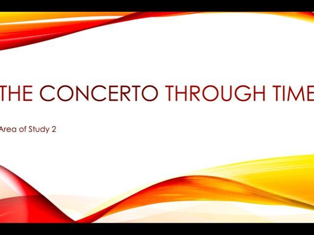 OCR GCSE Concerto through time (30 slides)