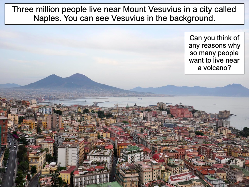 Why do people live near volcanoes? - KS2