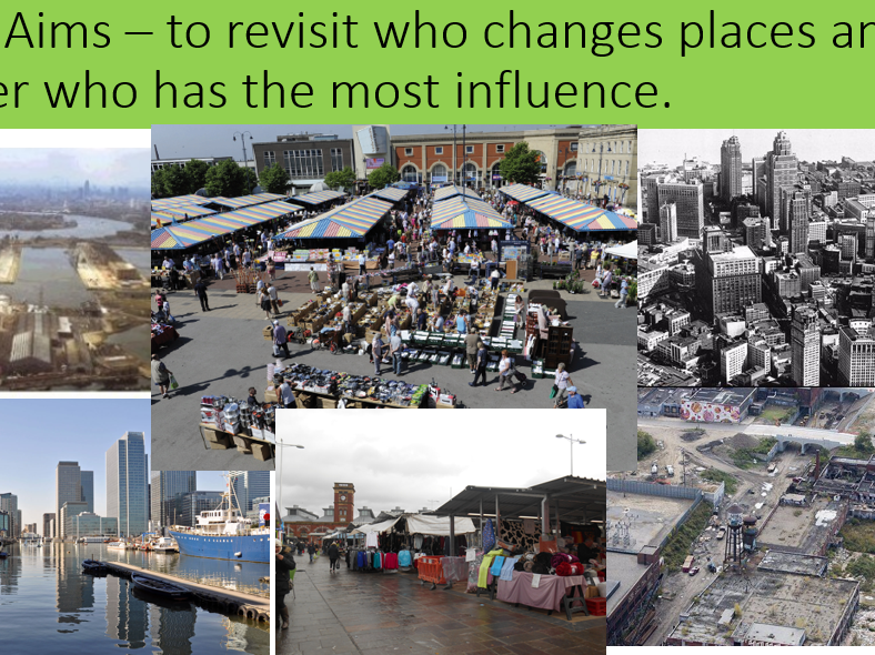 AQA A Level Changing Places - Revision Lesson - Who changes places?