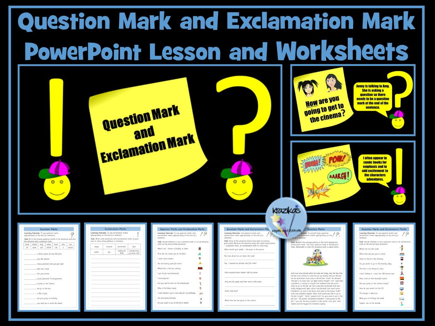 Question Mark and Exclamation Mark Bundle