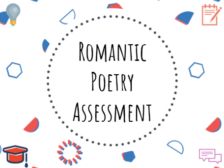 Romantic poetry assessment - Year 7 #Romantic #Poetry #Assessment