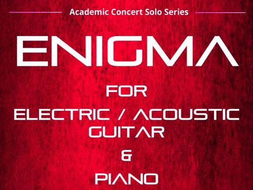 Enigma - Electric Guitar & Piano (Score & Parts)