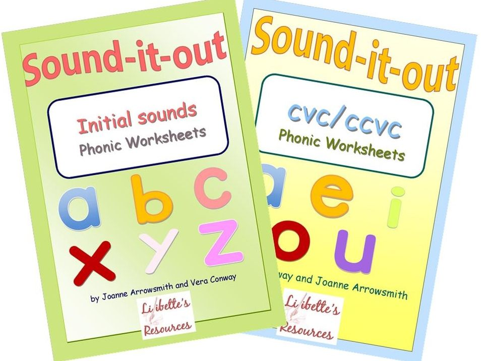 Bumper Worksheet Pack for Teaching Initial Sounds and CVC/CVCC Words