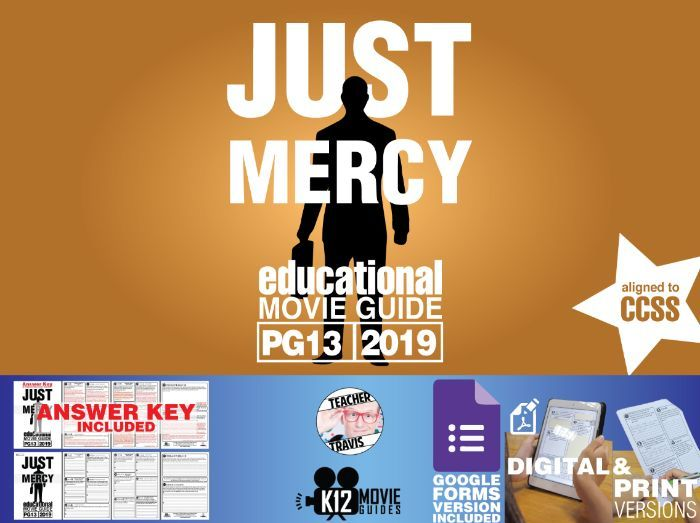 Just Mercy Movie Guide | Questions | Worksheet (PG13 - 2019)