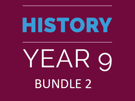 Year 9 History Bundle:TWO