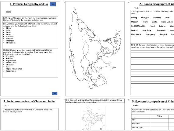 KS3 Asia booklet