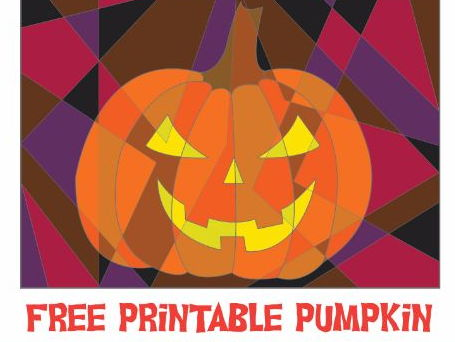 Free Halloween Pumpkin Coloring Activity Sheet