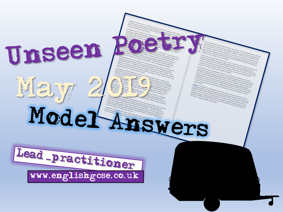 Unseen Poetry May 2019