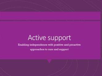 Active Support_presentation for workshop/ lesson