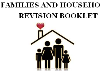 AQA SOCIOLOGY - FAMILIES & HOUSEHOLDS REVISION BOOKLET