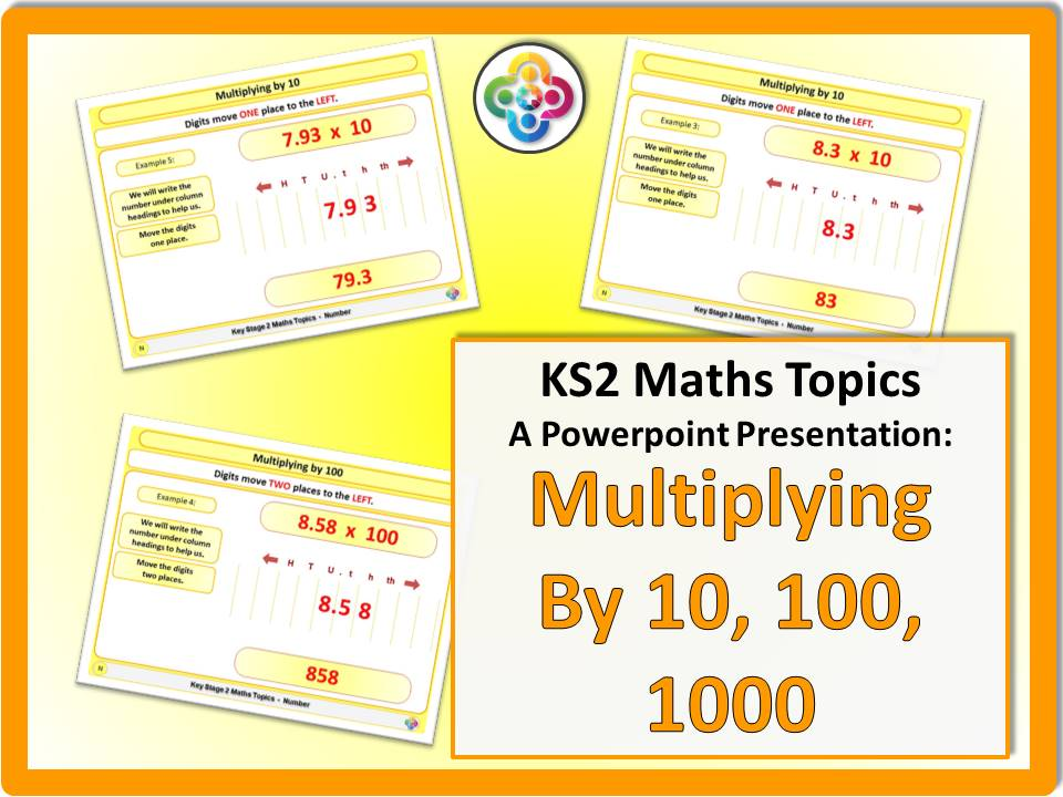 Multiplying by 10, 100, 1000 KS2