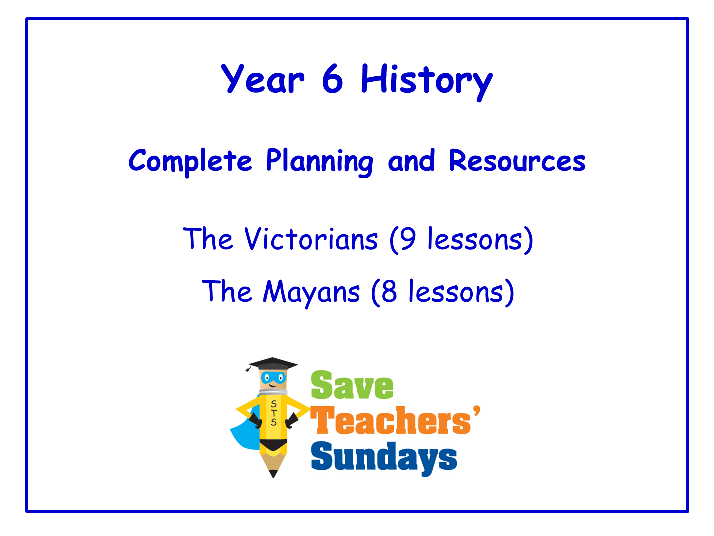 Year 6 History Planning and Resources
