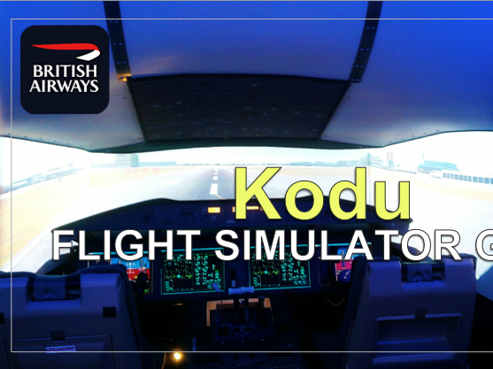 Kodu Flight Simulator