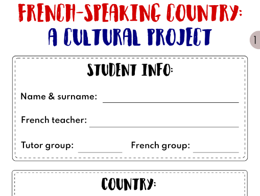 French-speaking country: a cultural project