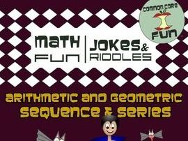 Arithmetic and Geometric Sequences & Series - Halloween Ready