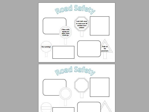 Road Safety Posters (Differentiated)