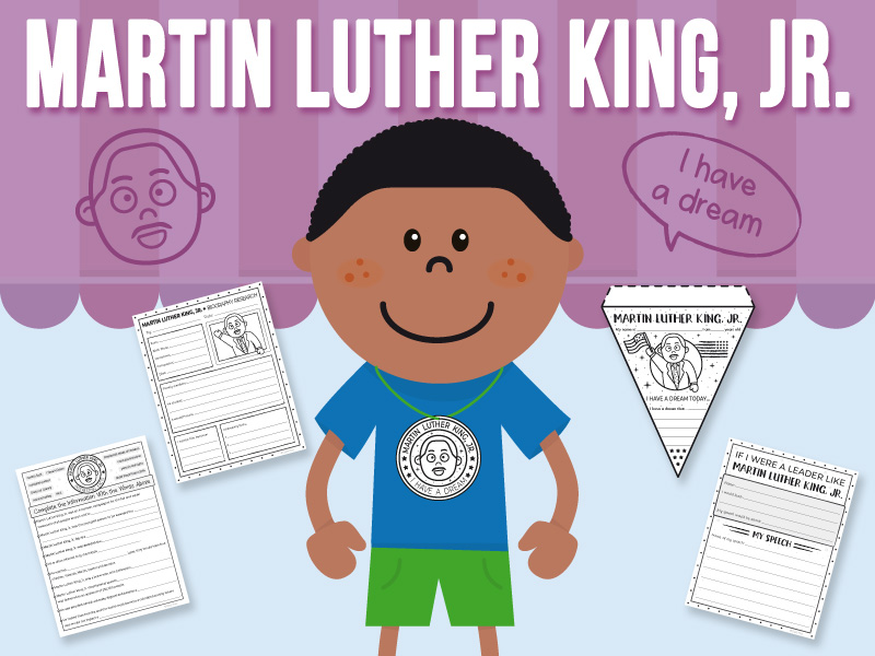 Martin Luther King, Jr. - Activity