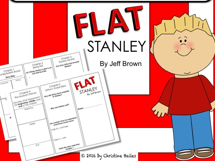 Flat Stanley Reading Trifold