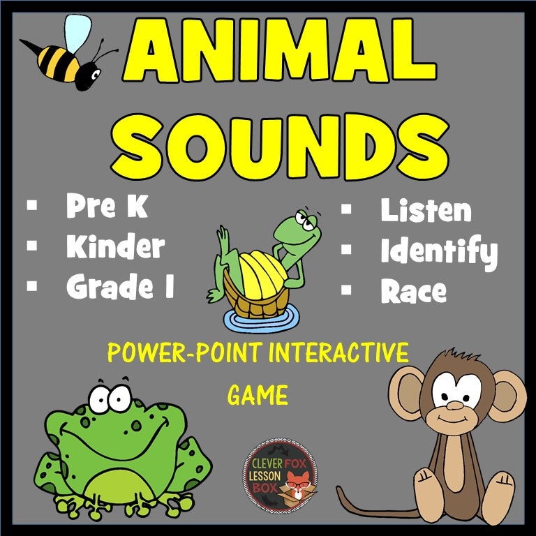 Animal sound game