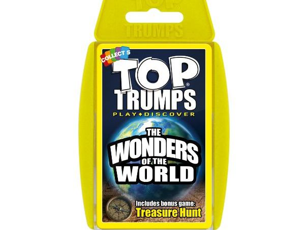 Wonders Of The World Official Top Trumps - Full Deck