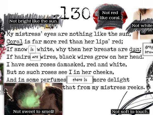 Line by Line: Shakespeare's Sonnet 130
