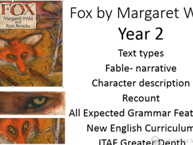 Fox by Margaret Wild Year 2 Narrative Unit Fable