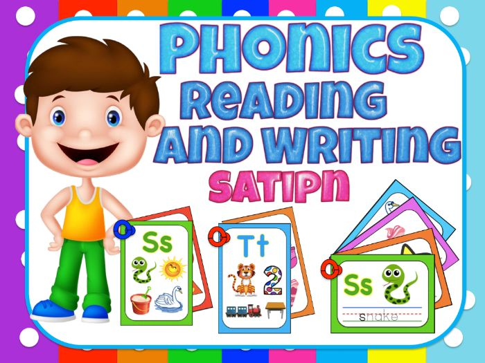 Jolly Phonics, reading and writing for centers (satipn)