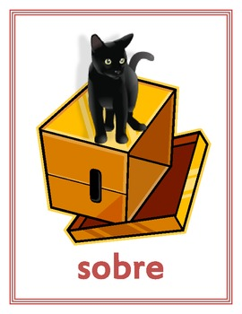 Prepositions in Portuguese Posters