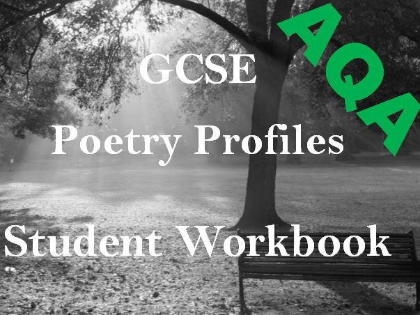 Student Poetry Workbook - AQA Power and Conflict - Grids for Poetry Analysis + Exam Preparation