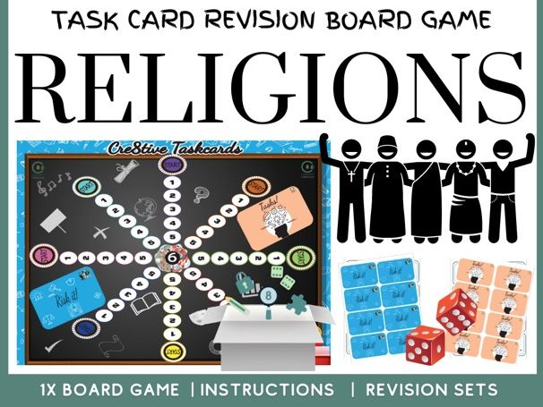 Religious Education Revision Board Game