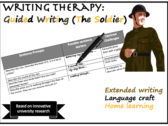 Home Guided Writing (The Soldier)
