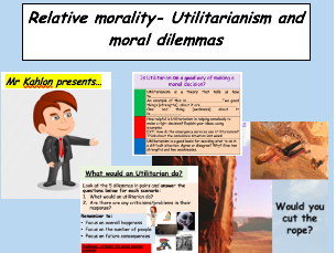 Relative morality- Utilitarianism and moral dilemmas