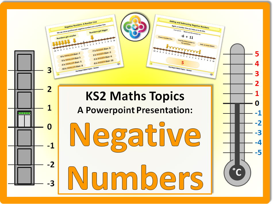 Primary maths negative numbers tes negative numbers ks2 fandeluxe Images