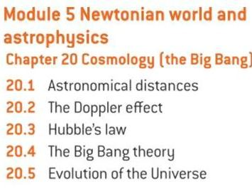 OCR A level Physics: Cosmology (Big Bang)