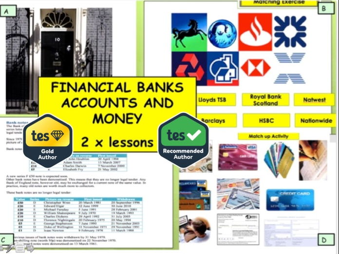 Financial Education - Bank accounts and Money Campaign IFS Business Studies