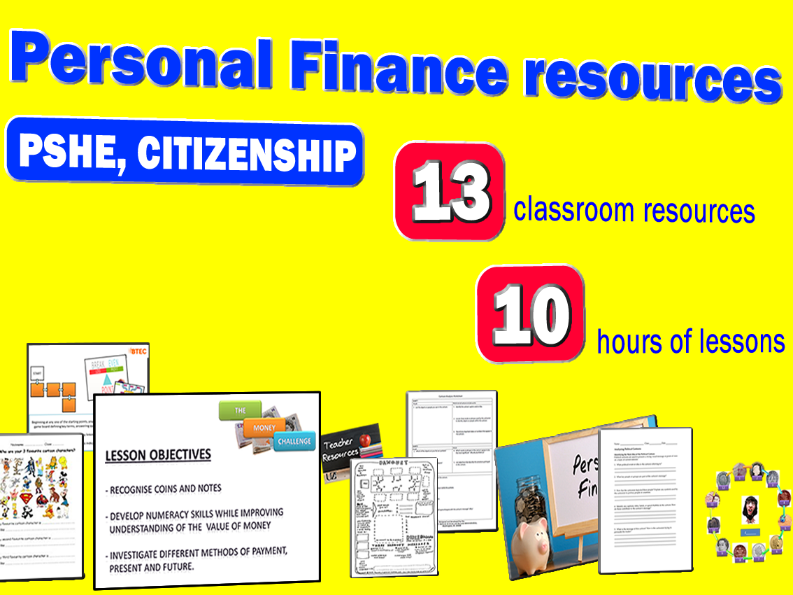Personal Finance Resources (KS3, KS4 & KS5)