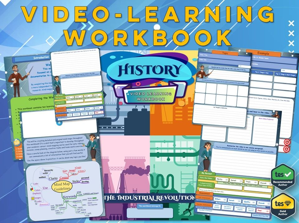 The Industrial Revolution - KS3 History - Workbook [Video-Learning Workbook]