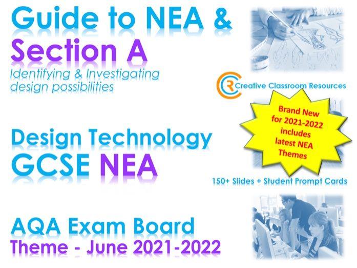 2021-22 NEW CONTEXTUAL THEMES GCSE DT NEA AQA Guide to Context & Section A