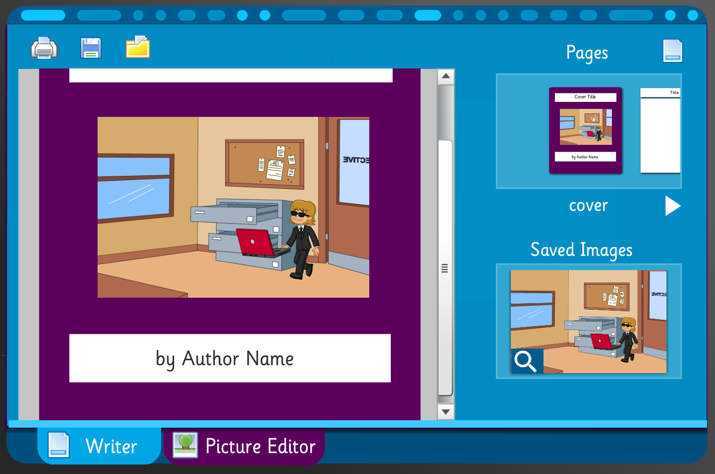Mystery Game Scene and Story Builder - Interactive Activity - KS2 Literacy
