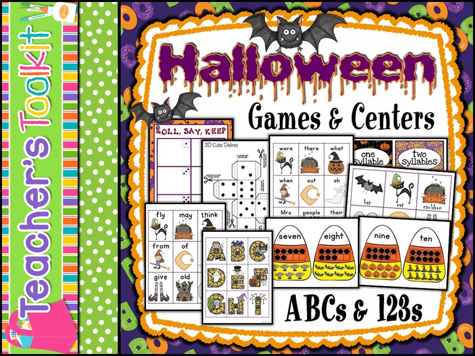 Halloween Games Stations