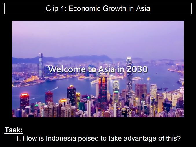Edexcel Geography B - Development Dynamics: Lesson Four - Economic Trends in Indonesia