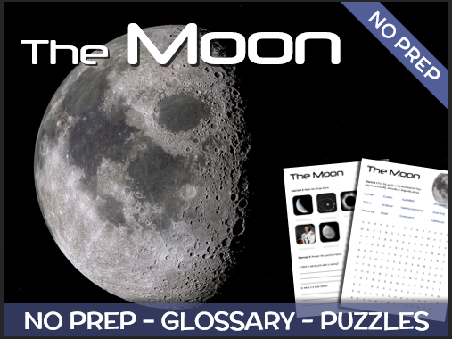 The Moon - Puzzles & Glossary