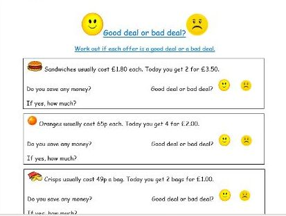 PSHE and Life Skills - Money