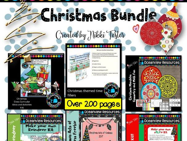 Christmas Half Priced bundle of Activities and Cross Curricular Unit of work