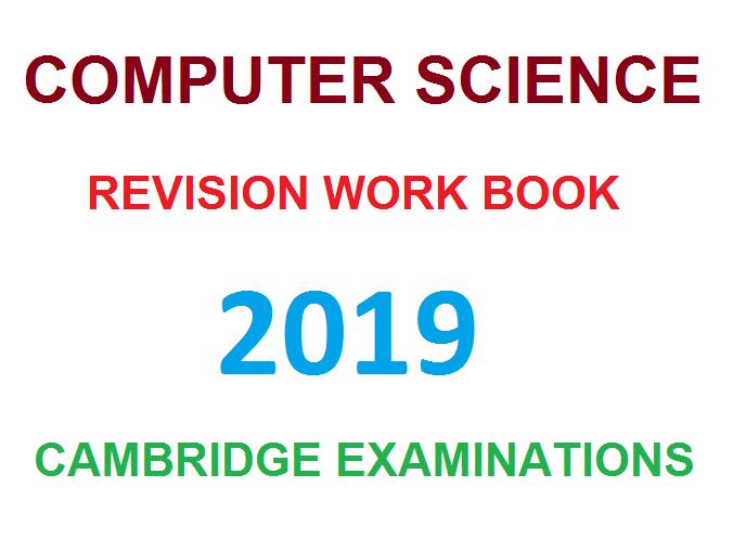 CIE Computer Science workbook