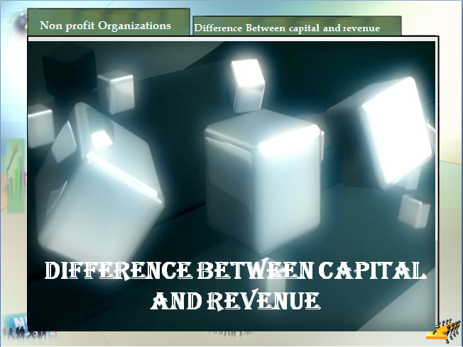 p2 'explain the difference between capital