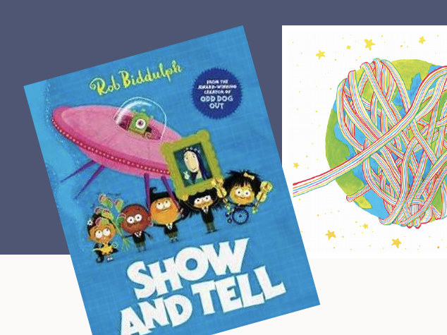 Creative Home Learning.'Show and Tell' by Rob Biddulph