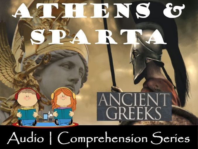 Athens and Sparta | Distance Learning | Audio & Comprehension Worksheets