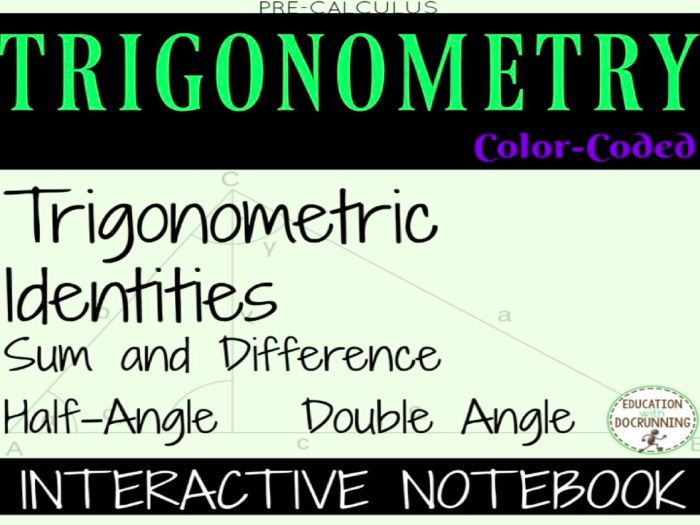 Trigonometric Identities Sums And Differences Of Multiple Angles