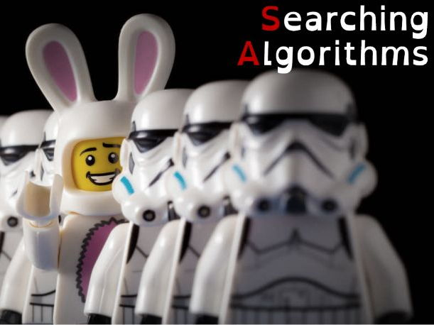 Searching  Algorithms - OCR -J276